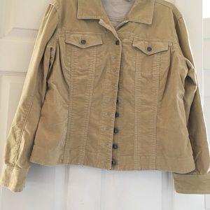 Chico's brush suade jacket